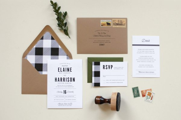 blog tied two charlotte small business branding stationery