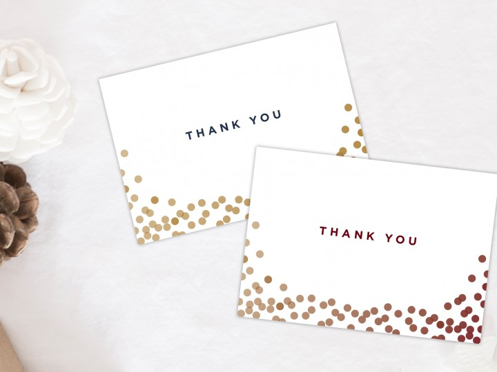 Small Business Saturday – Free Thank You Card Download