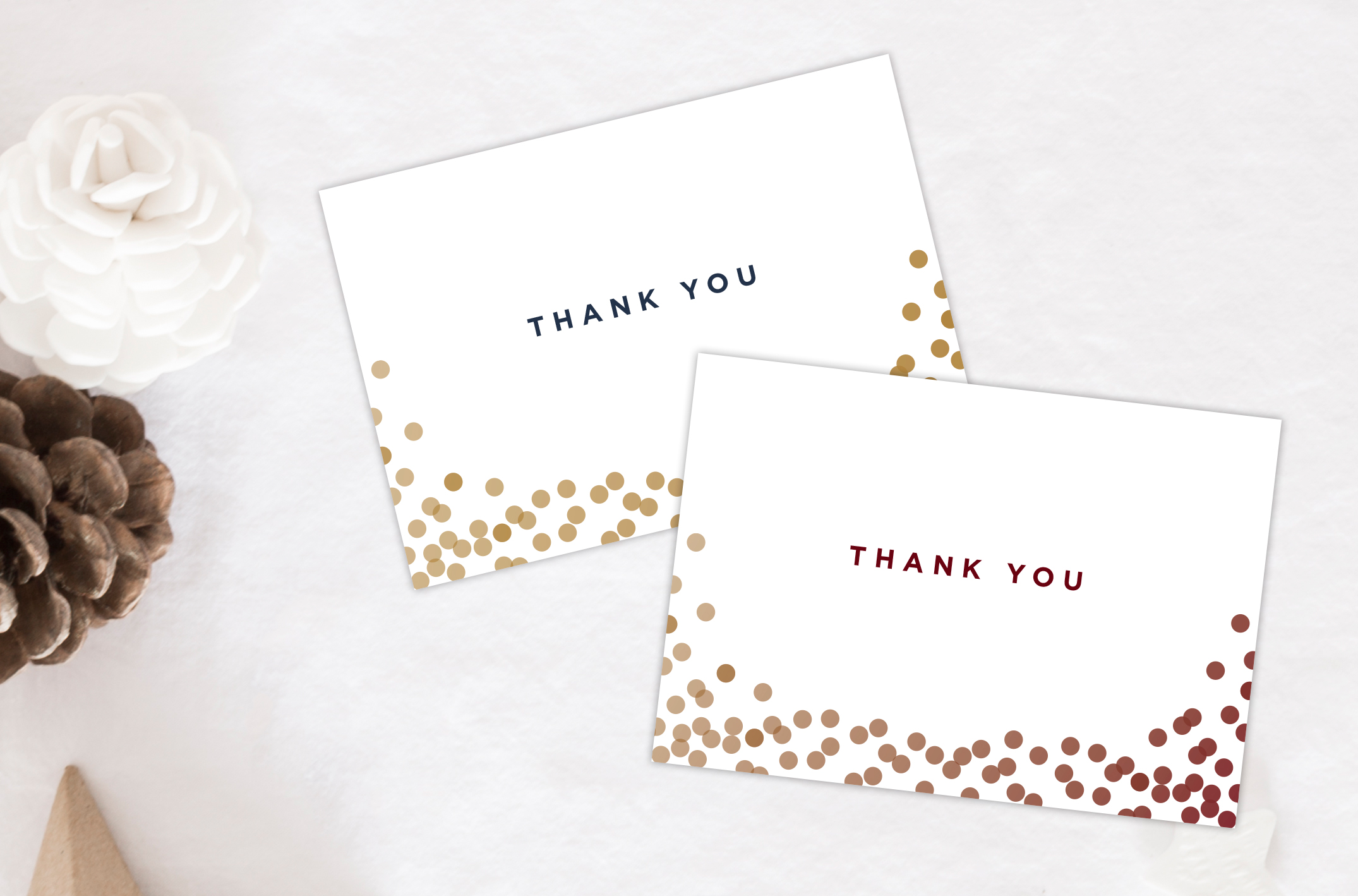 small business saturday – free thank you card