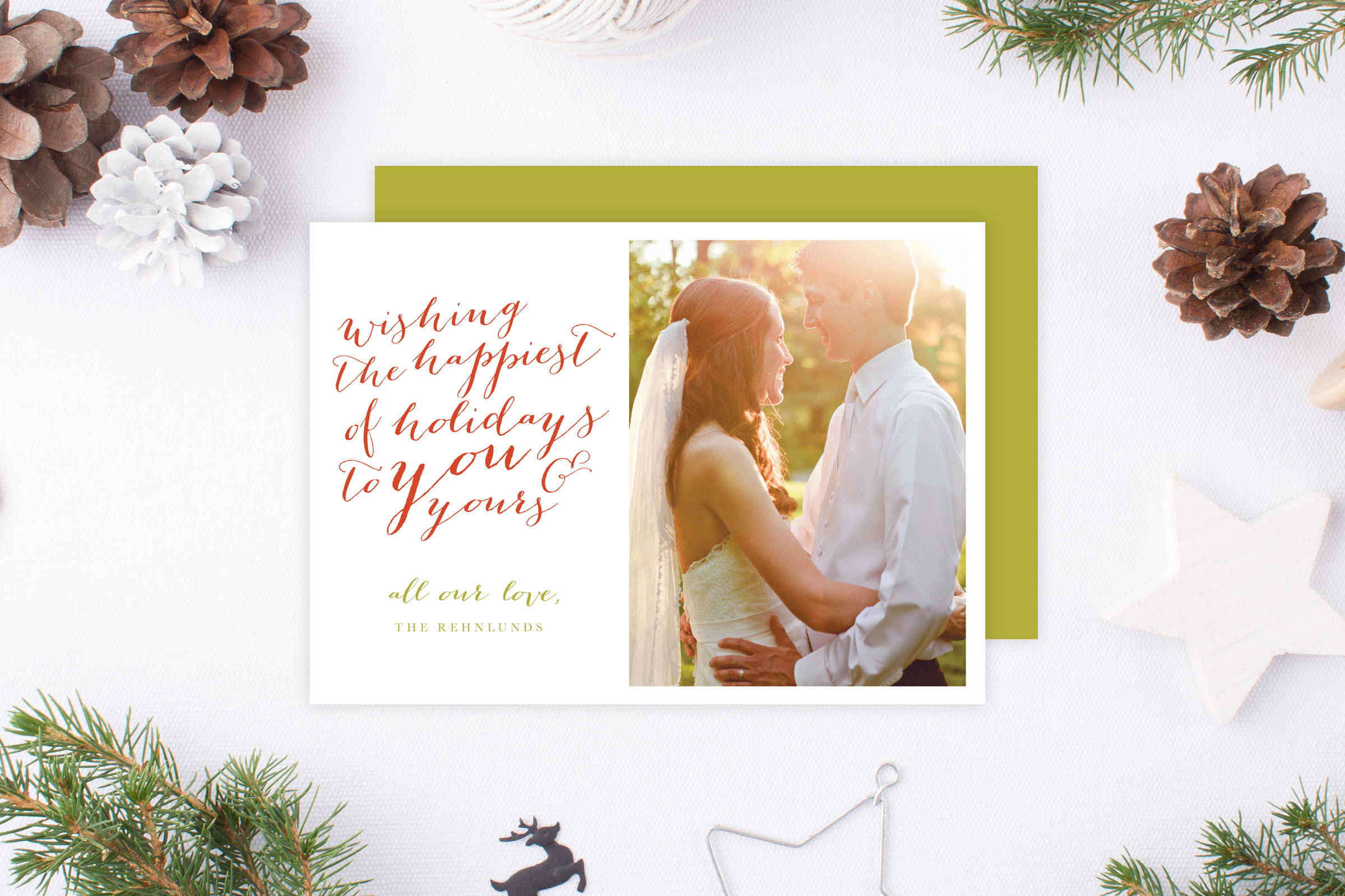 Christmas Cards | \'Tis the Season! | Tied & Two