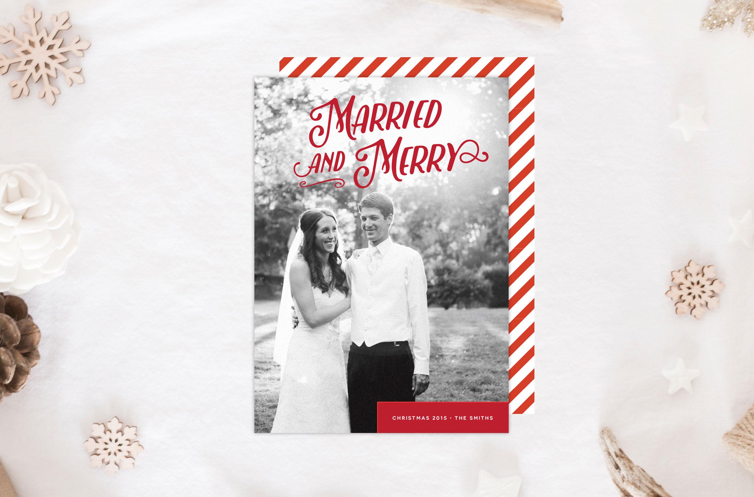 Christmas Cards | \'Tis the Season! | Tied & Two