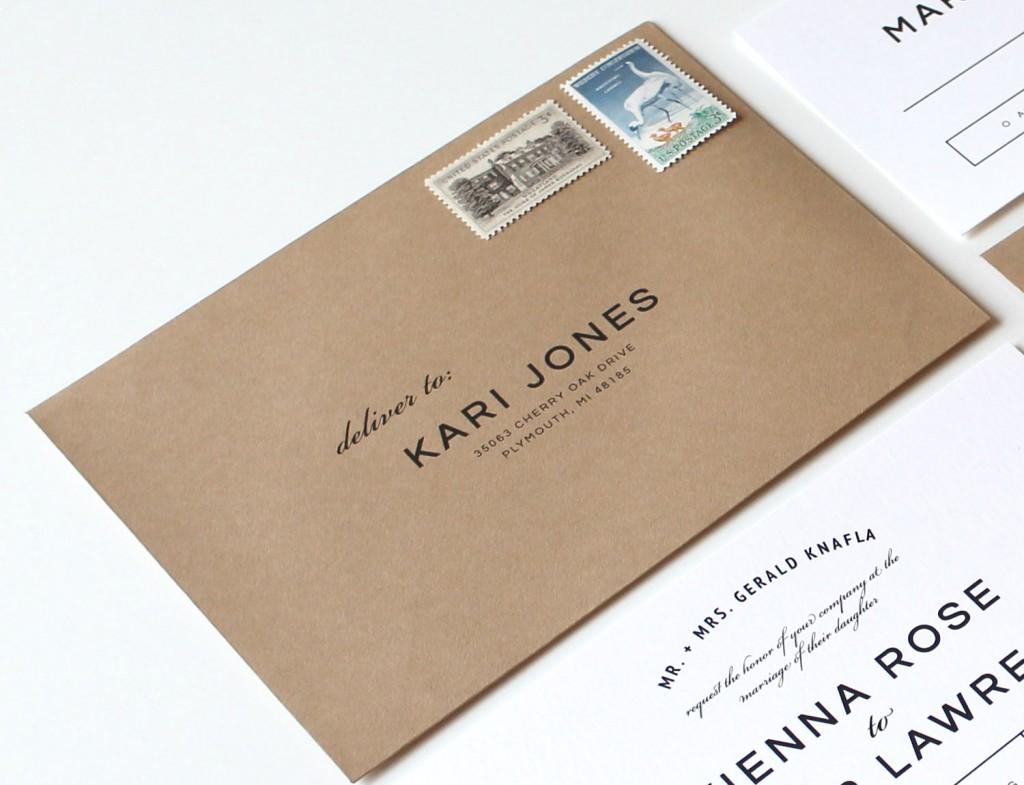 Wedding-Envelope-Addressing