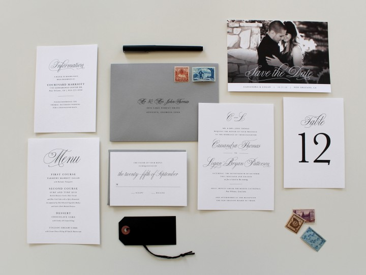 Charlotte Wedding Invitations | Traditional Wedding