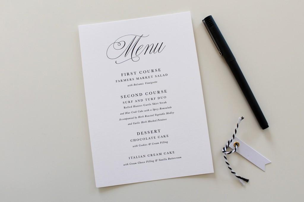 Printable-Wedding-Menu