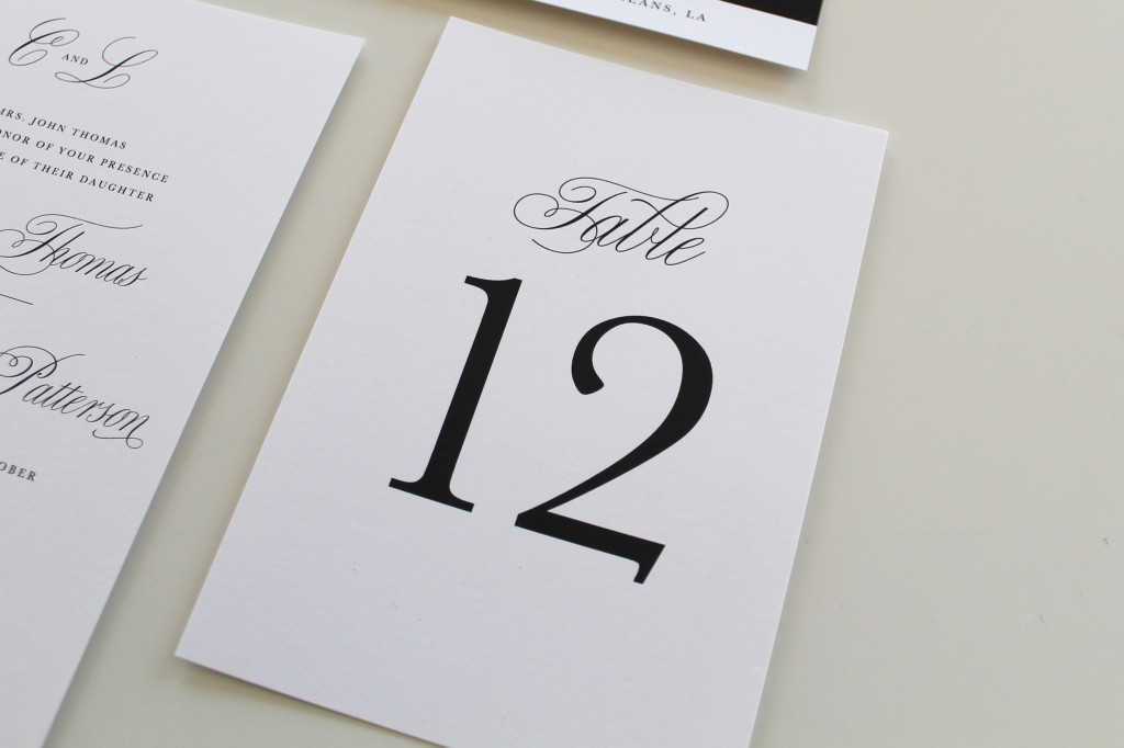 Traditional-Table-Numbers