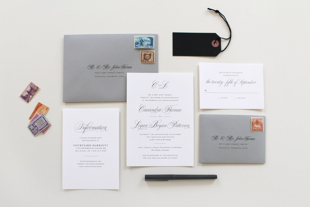 Great Traditional Wedding Invitations