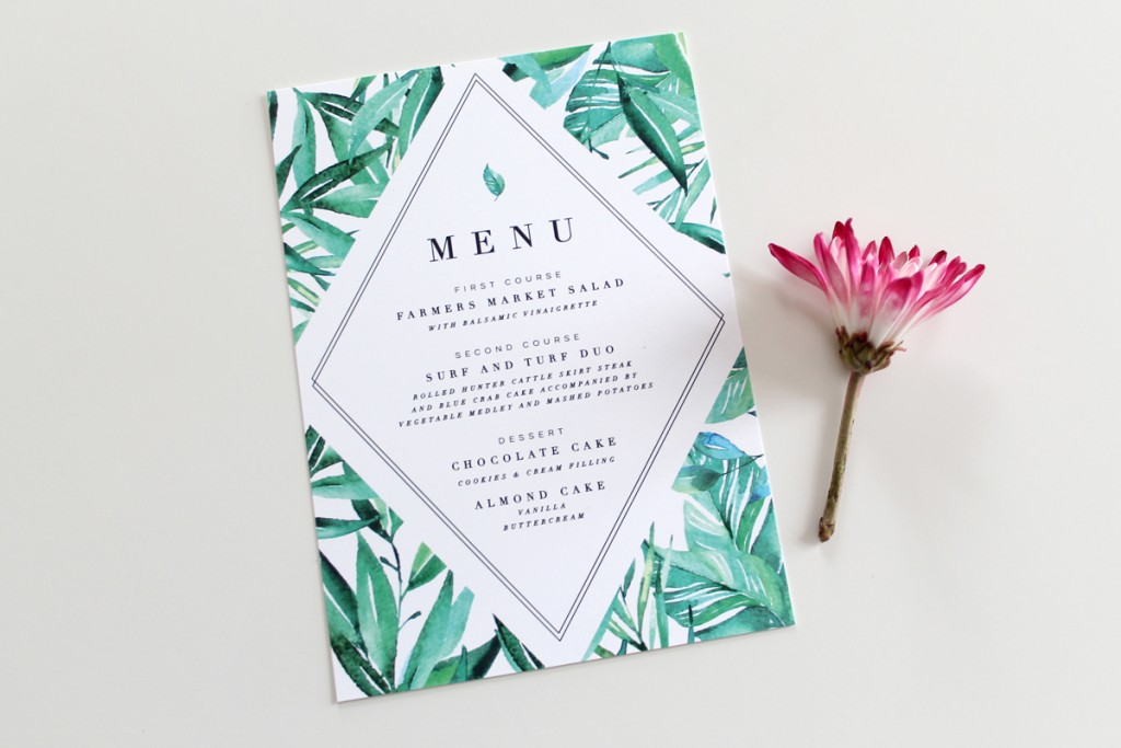 Tropical-Destination-Wedding-Menu