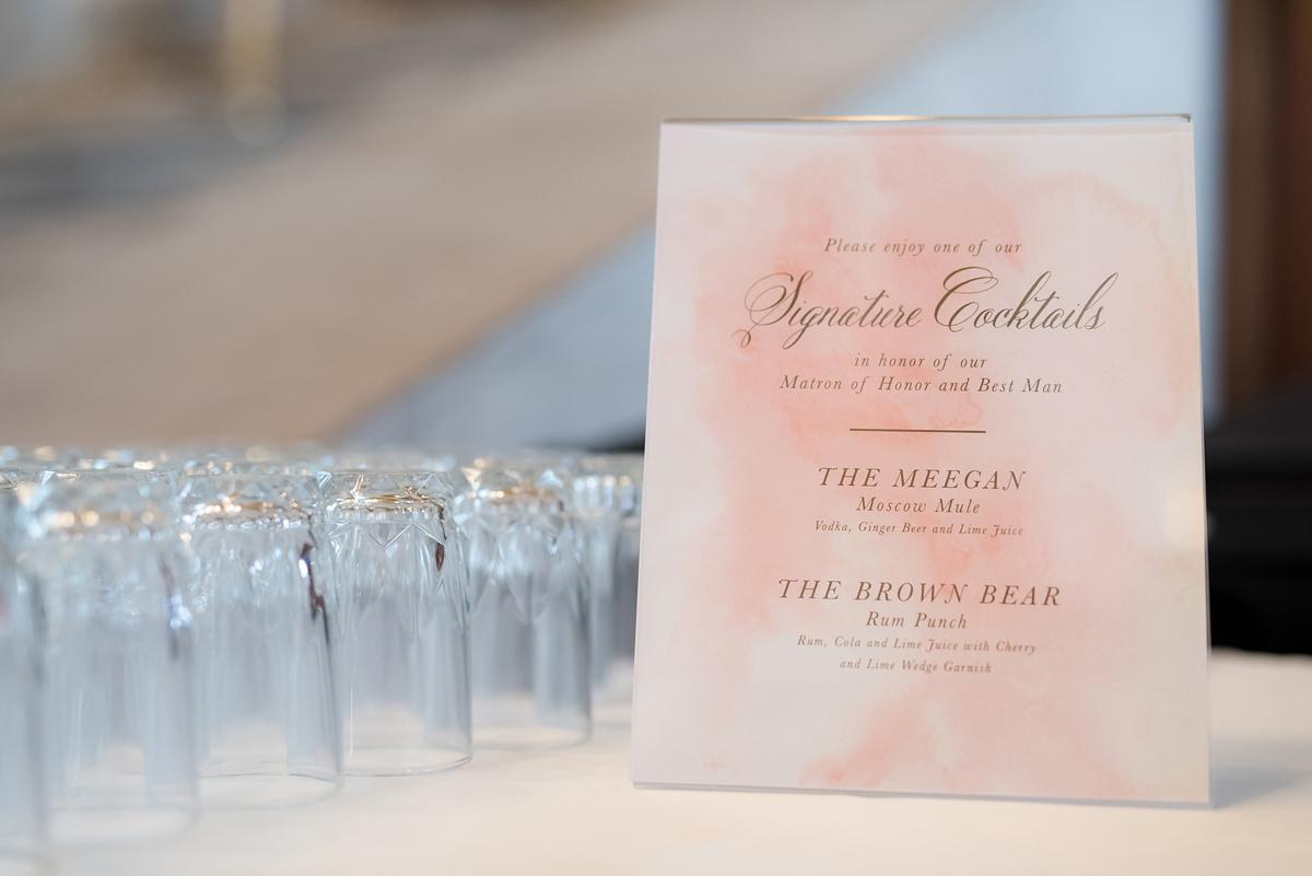 custom-drink-menu-for-wedding-reception