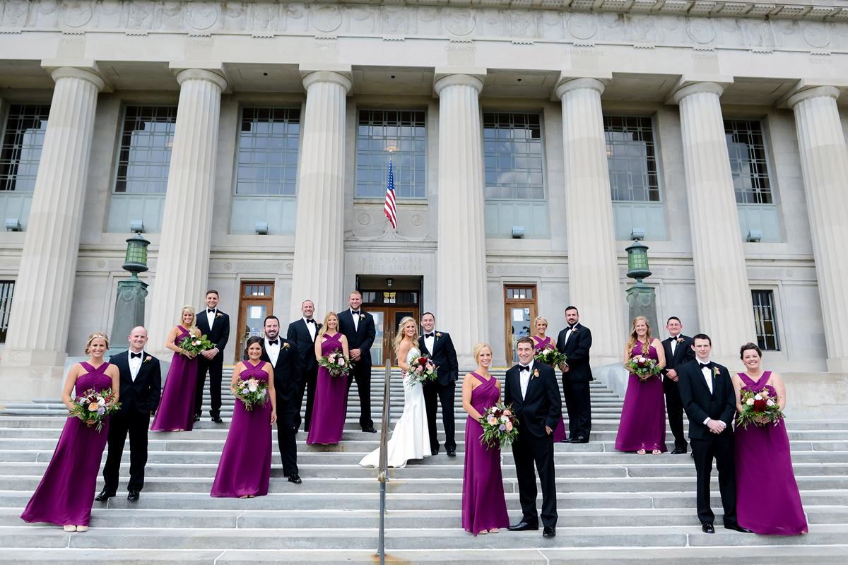 library-wedding
