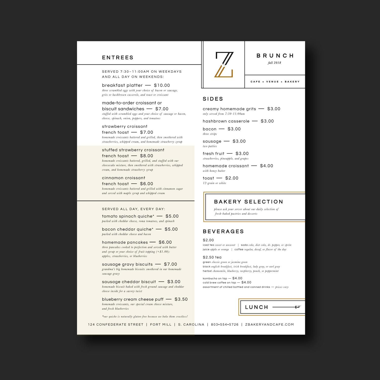 Bakery-Menu-Design
