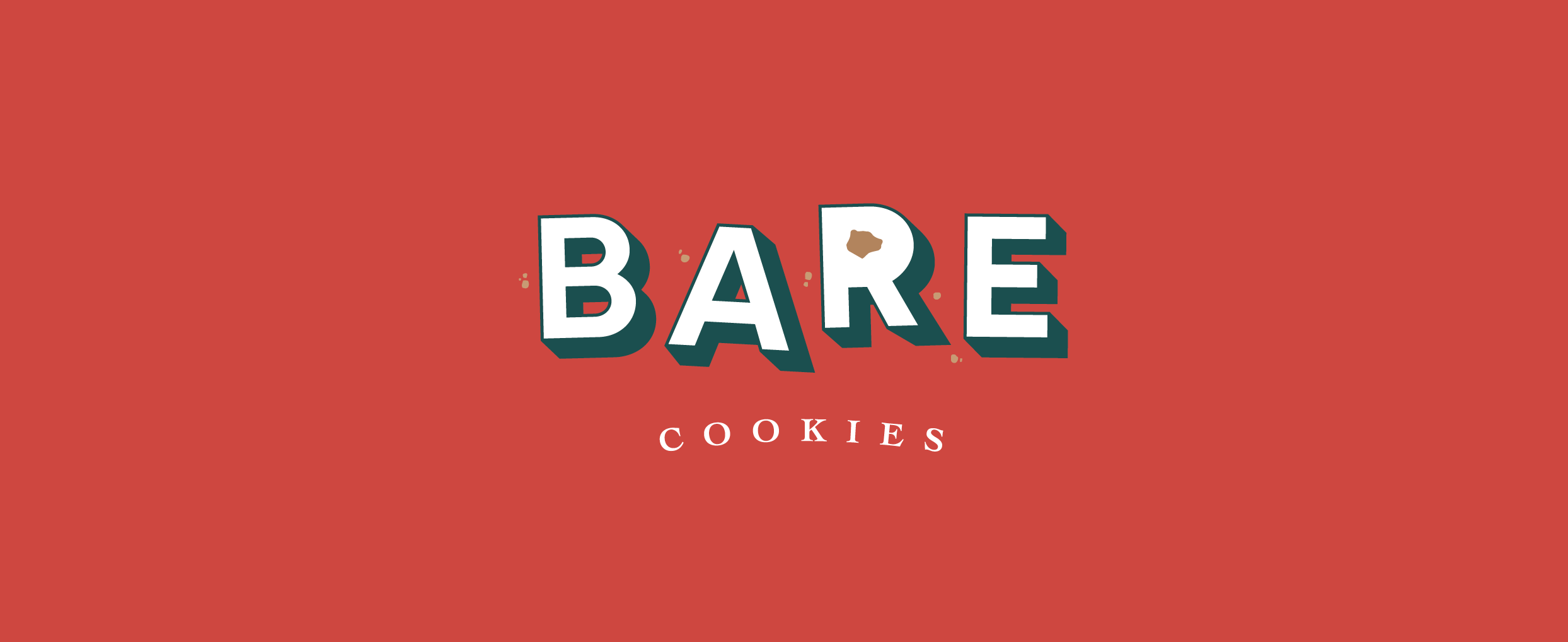 Vegan Cookie Logo Design